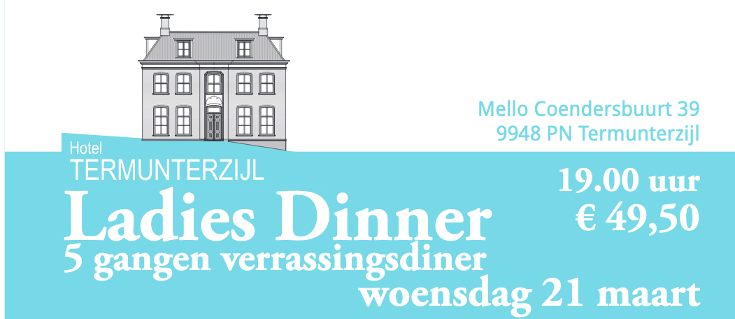 Ladies Dinner Flyer