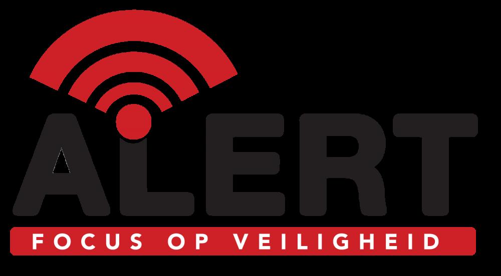 Alert, focus op veiligheid - logo
