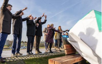 Groningse zeedijk officieel 'dijk veilig' én aardbevingsbestendig