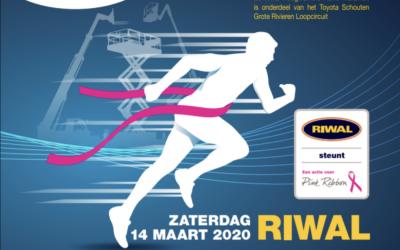 RIWAL Hoogwerkers halve marathon steunt Pink Ribbon