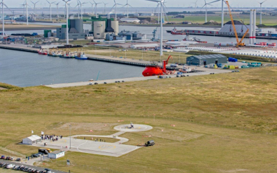 EMS Maritime Offshore and Shell Aviation sign long-term supply contract for Heliport Eemshaven