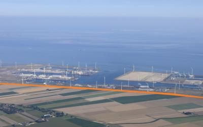 Eemshaven krijgt zonnedijk: 5 kilometer aan zonnepanelen op zeedijk