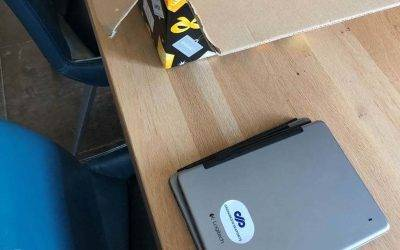 Groningen Seaports doneert iPads aan Zorgcentrum De Mieden