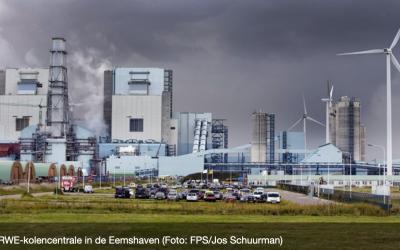 Productie kolencentrale Eemshaven omlaag; ook sluiting is mogelijk