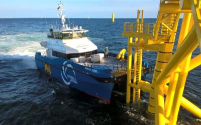 Ems Maritime Offshore bietet seit zehn Jahren Offshore-Services an