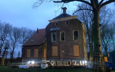 Ortageo : Aardbevingsbestendig maken Borg Rusthoven in Wirdum