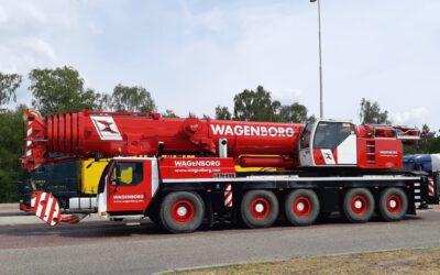 Nieuwe kranen voor Wagenborg Nedlift