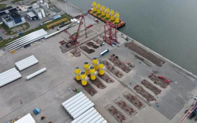 Voorbereidingen aanleg grootste offshore windpark ter wereld vanuit Eemshaven begonnen