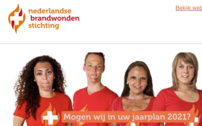 Nederlandse Brandwonden Stichting: mogen wij in uw jaarplan?