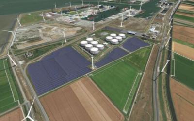 Nieuw zonnepark Eemshaven gaat stroom 8000 voor huishoudens leveren