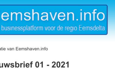 Nieuwsbrief 01 -2021