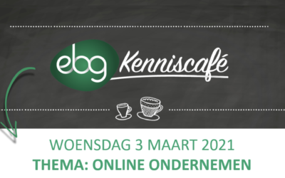 Gratis EBG Kenniscafé over online ondernemen