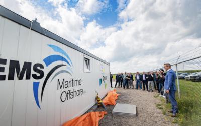 Opening van DronePort Eemshaven