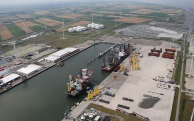 Buss Terminal Eemshaven: nieuw contract voor assemblage en installatie voor offshore wind park
